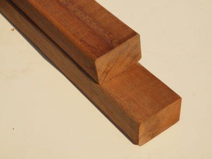 Hardhout geschaafde liggers 4,5 x 7,0